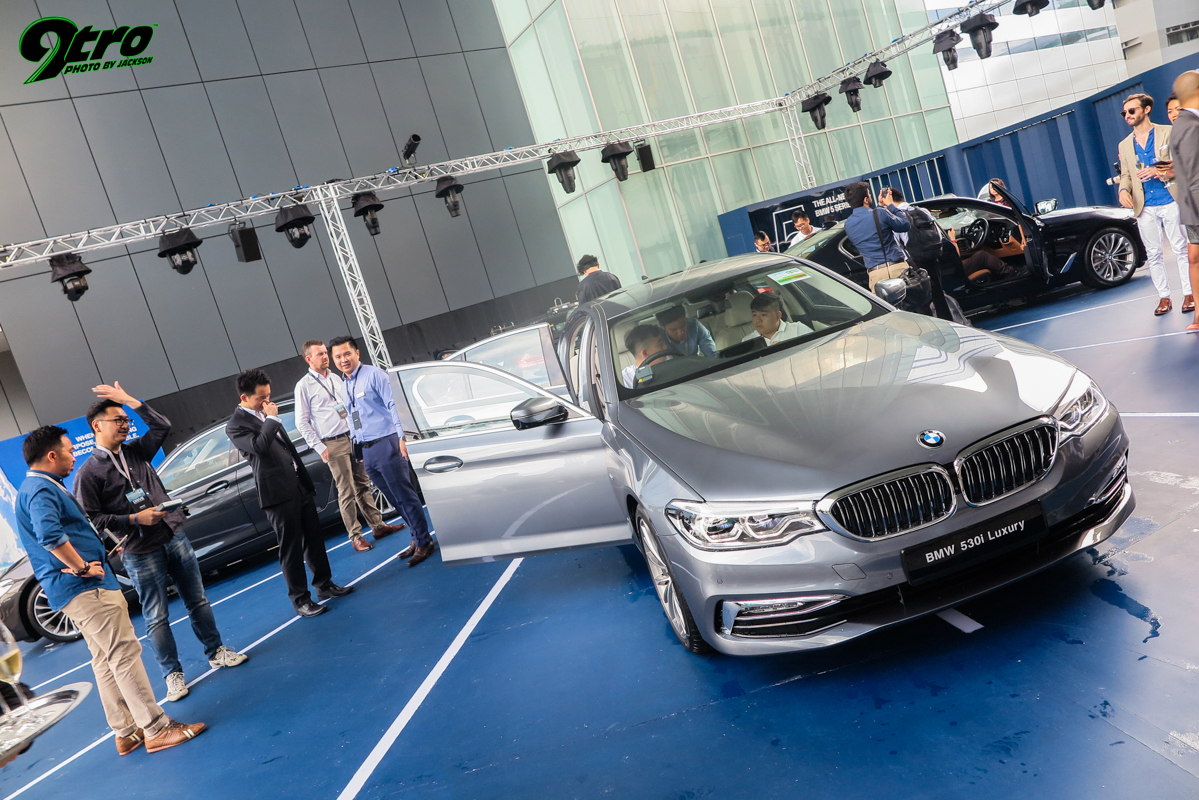 BMW 5 Series (G30) – Singapore Launch
