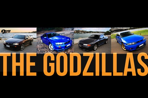 R32, R33 and R34 - The Godzillas
