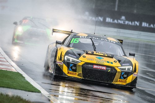 2017 Blancpain GT Series Asia - Marchy Lee won Silver Cup title