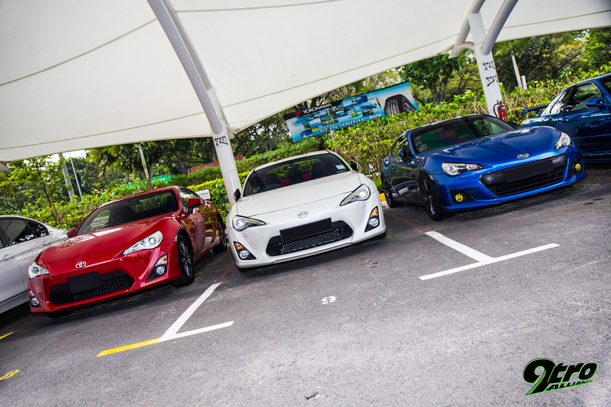 Attractive 2014 Sports Car Club Singapore X YHI Meet
