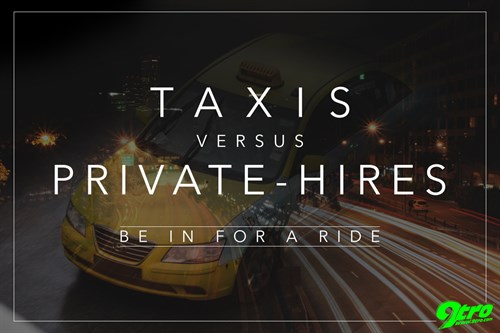 Taxis versus Private-Hires – Be in for a Ride