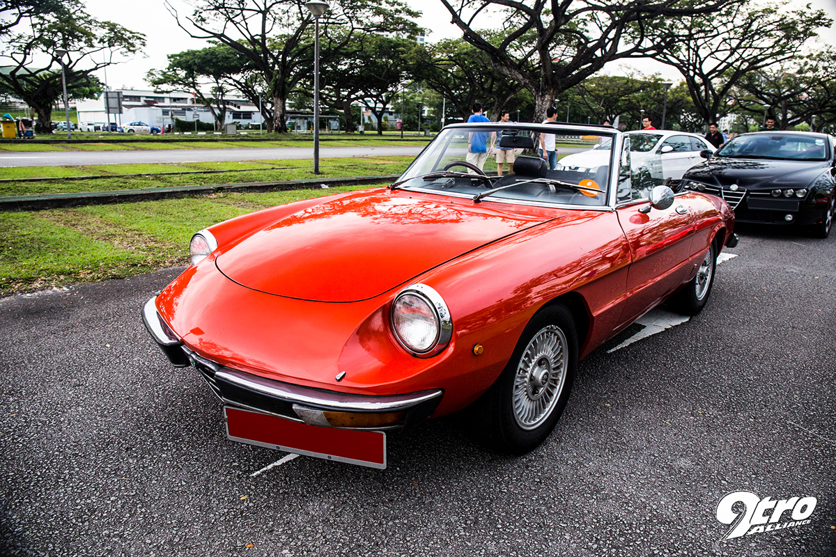 Alfa Romeo Owners Of Singapore Year End Photoshoot Tro - Old alfa romeo for sale