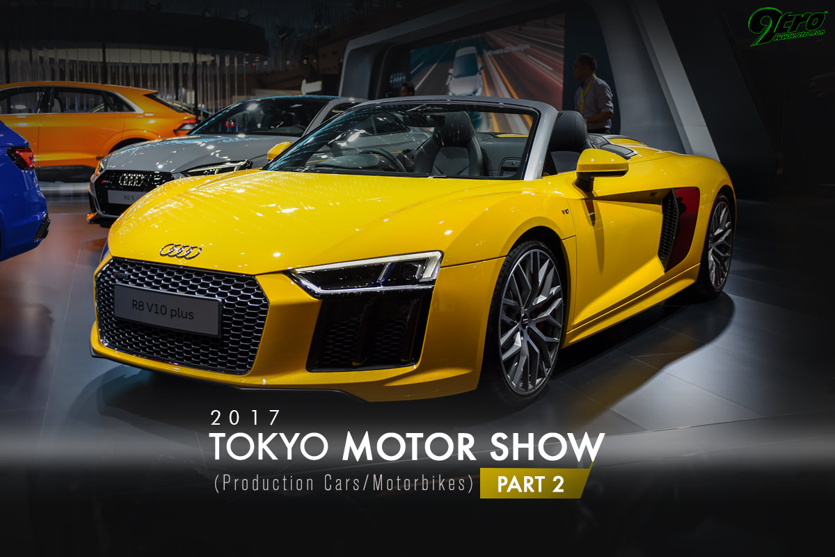 2017 Tokyo Motor Show - Part 2 (Production Cars/Motorbikes)
