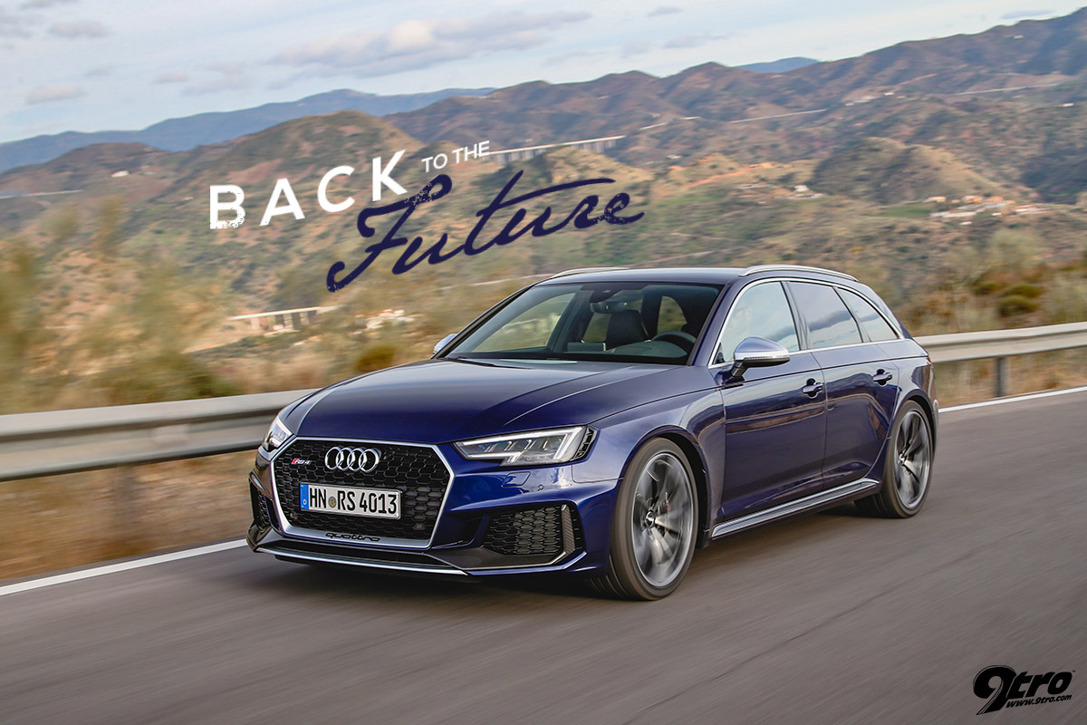 Audi RS4 Avant B9 - Back to the Future