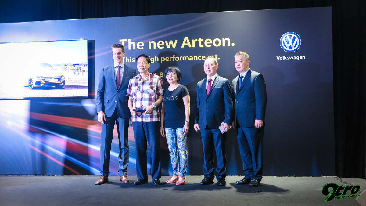 Volkswagen Arteon - Singapore Launch