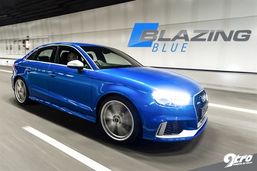 Audi RS3 - Blazing Blue