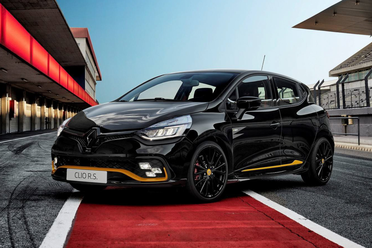 2018 renault clio rs 18 9tro. Black Bedroom Furniture Sets. Home Design Ideas