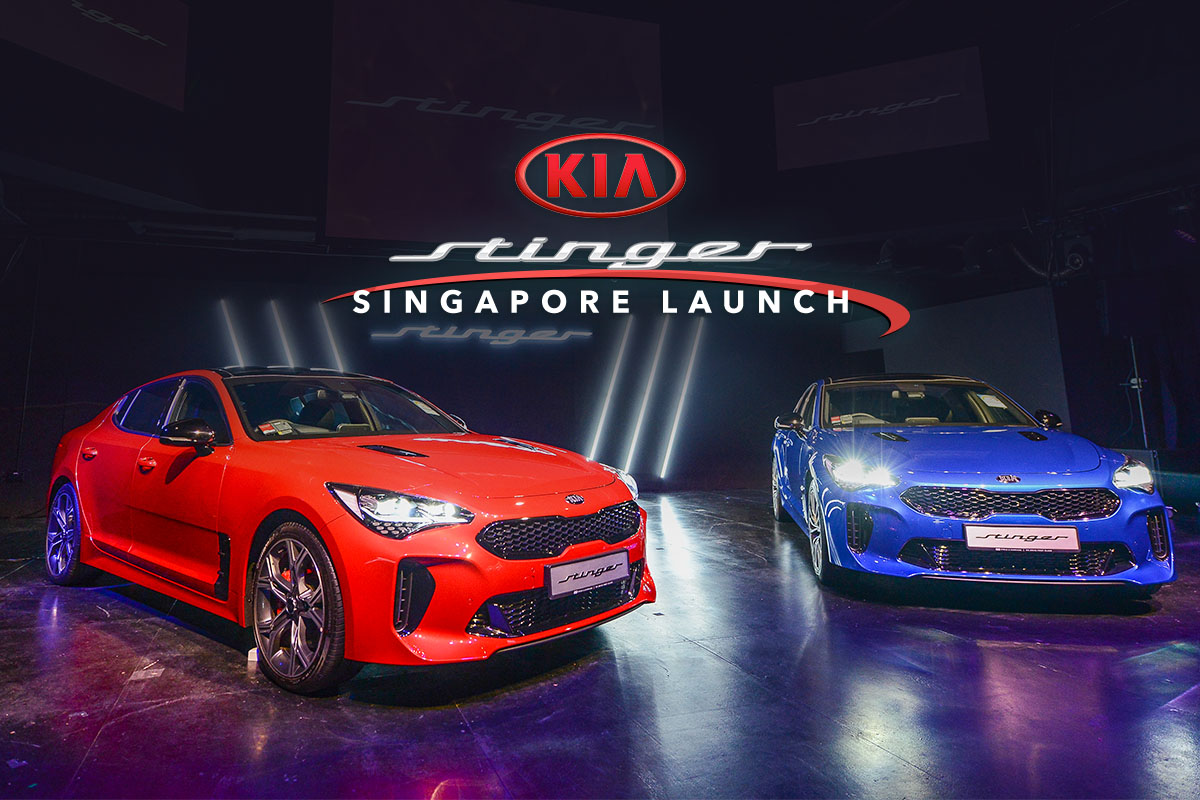 Kia Stinger - Singapore Launch