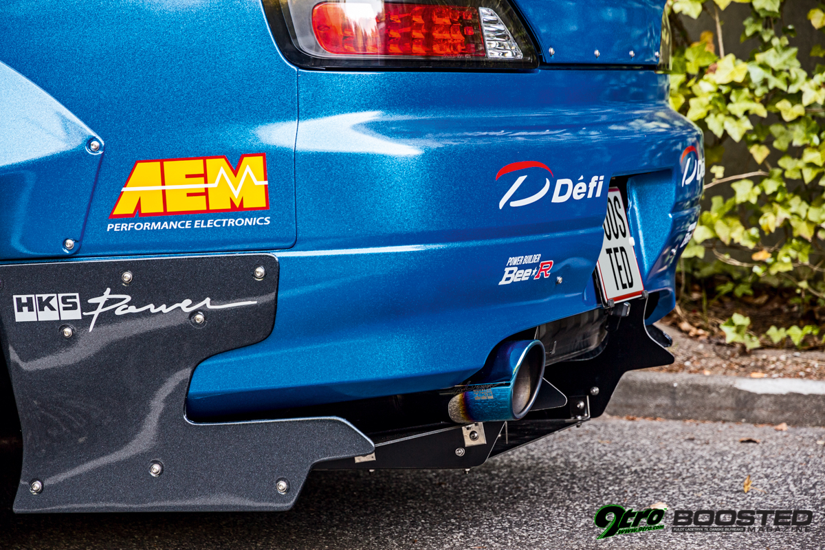 Boosted Nissan Silvia S15