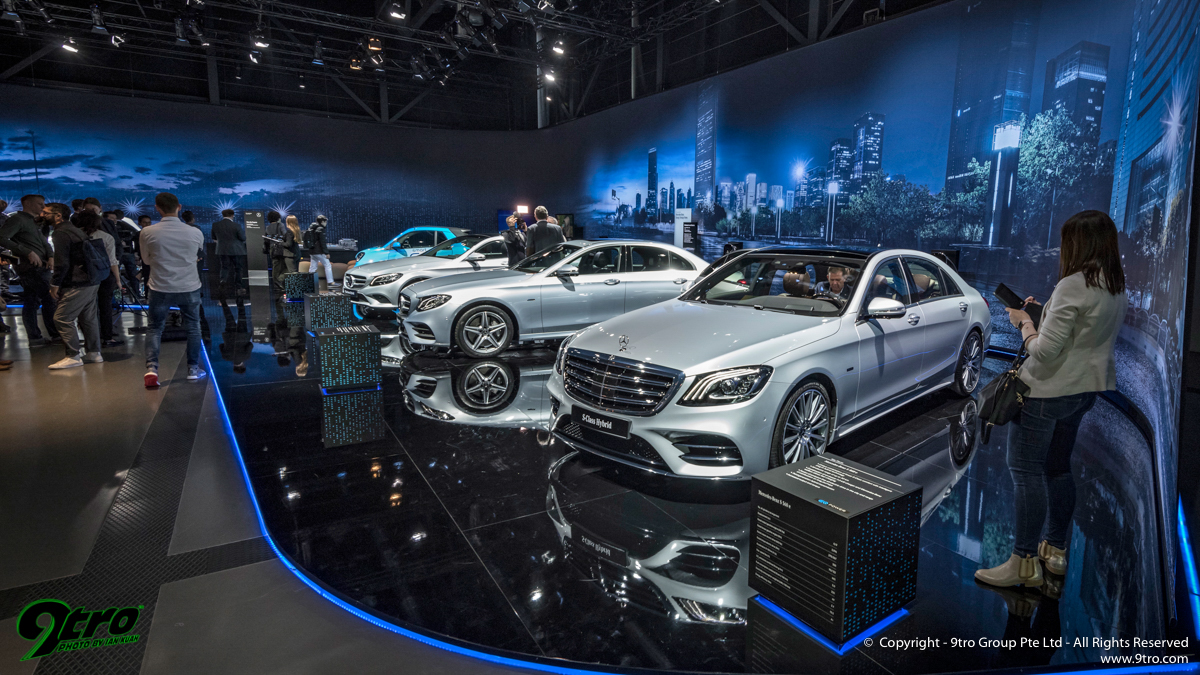 MercedesBenz At Geneva International Motor Show Part Tro - Mercedes car show 2018