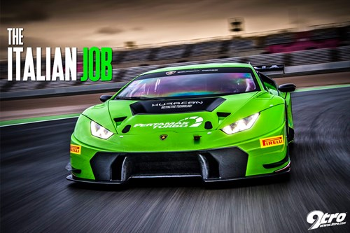 Lamborghini Huracan GT3 - The Italian Job
