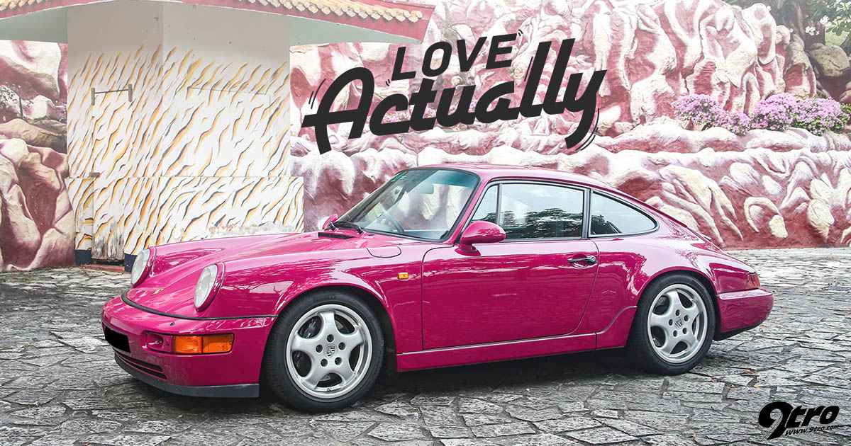 The Half Million Kilometre 964 RS   Love Actually   9tro