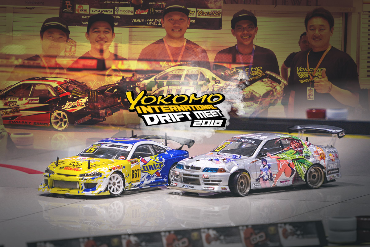 2018 Yokomo International Drift Meet