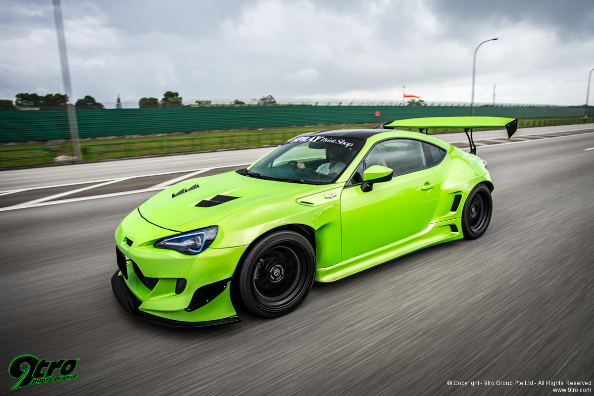 Rocket Bunny Toyota 86 - Too loud, too outspoken