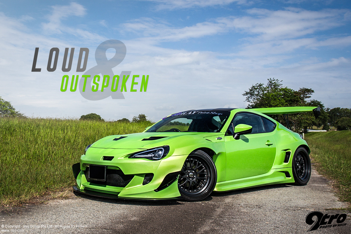 Rocket Bunny Toyota 86 - Loud & Outspoken!