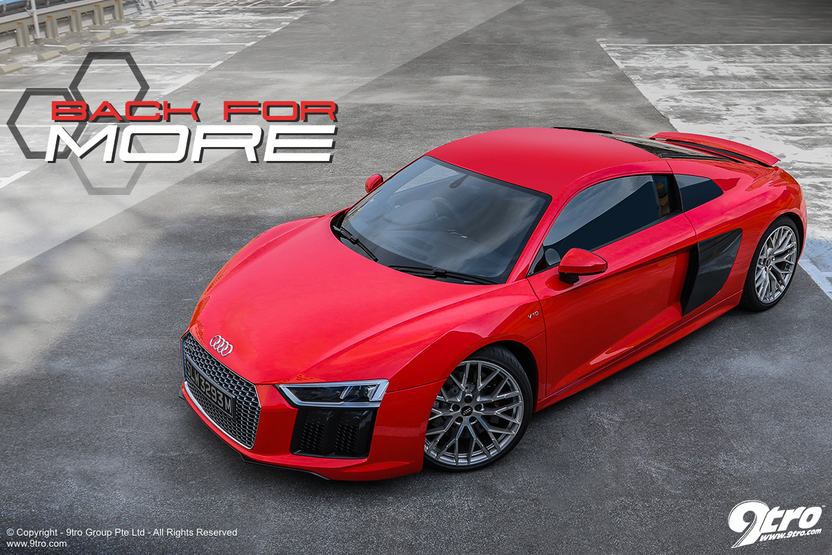 Audi R8 - Back for More
