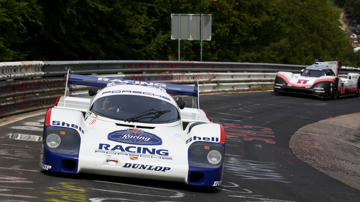 The 919 Tribute on Tour - With strong partners at the Nordschleife