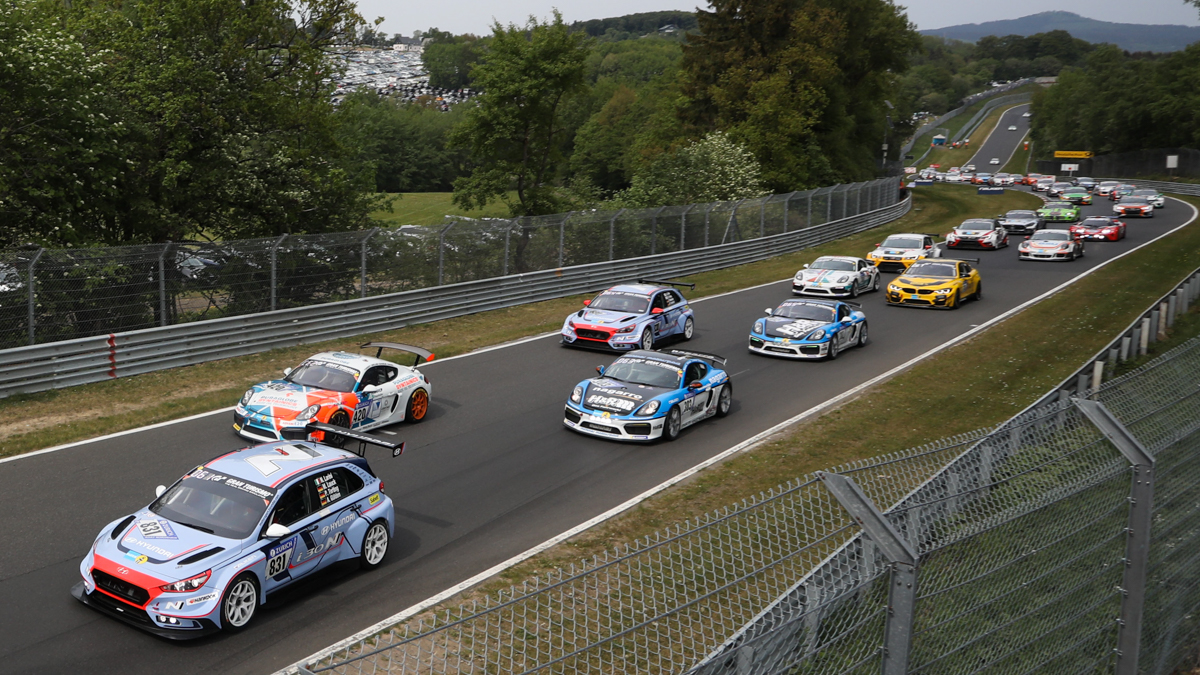 Hyundai i30 N TCR scores class podium result on Nurburgring 24 Hours debut
