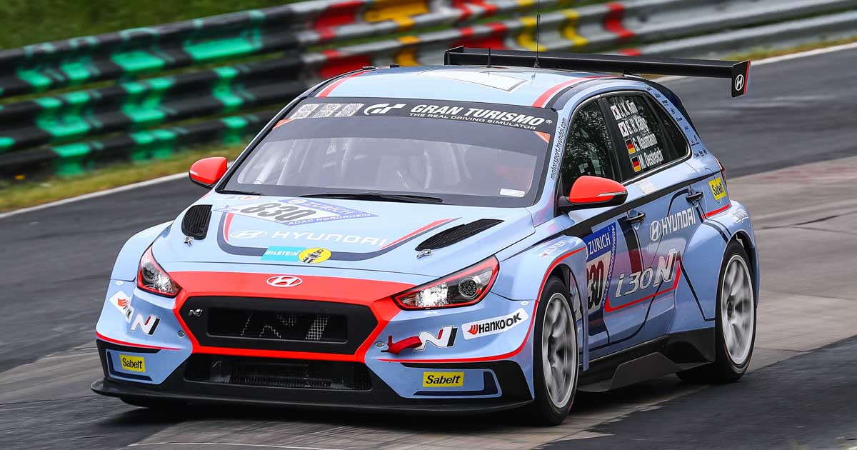 Hyundai I30 N Tcr Scores Class Podium Result On Nurburgring 24 Hours